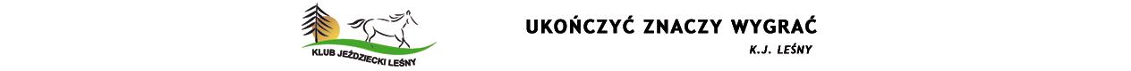 Sportowe Rajdy Konne - K.J. Leśny